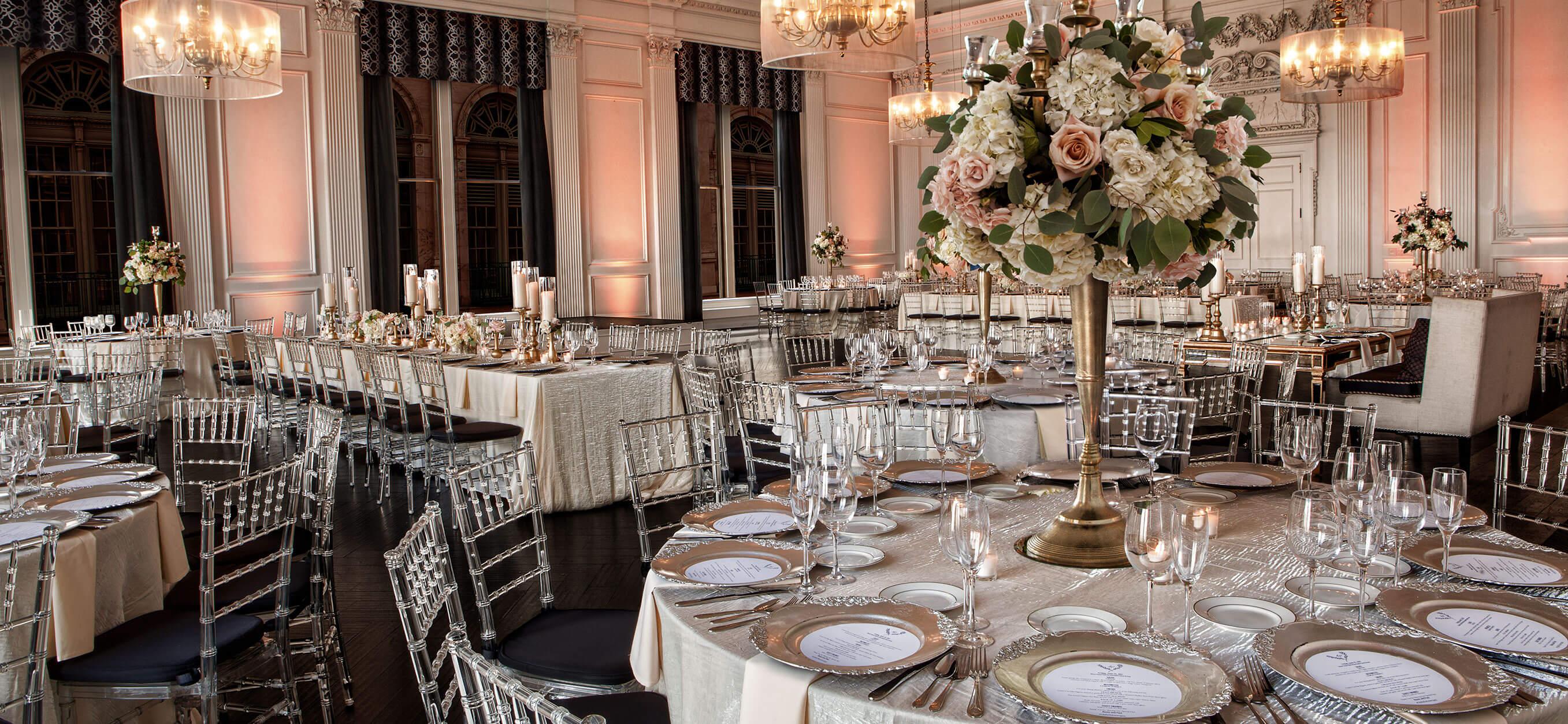 Down Town Club Cescaphe Weddings Philadelphia Wedding Services